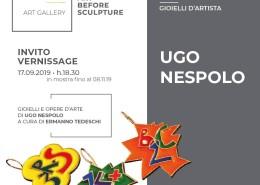 Invito Ugo Nespolo - Babs Art Gallery