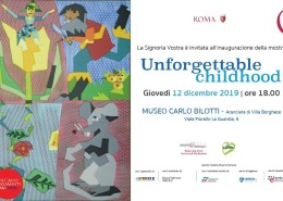 Unforgettable childhood roma invito