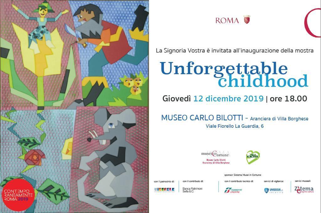 Unforgettable childhood roma invito